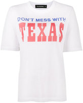 Filles a papa Texas printed distressed t-shirt