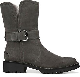 Sam Edelman Jeanie Faux-Fur Lined Weatherproof Suede Boots