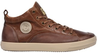Pataugas Carlo Leather High Top Trainers