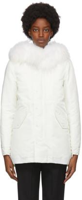 Mr & Mrs Italy White Down New York Jacket