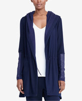 Lauren Ralph Lauren Hooded Open-Front Jacket