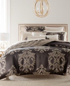 Hotel Collection Classic Flourish Damask King Duvet Cover Bedding