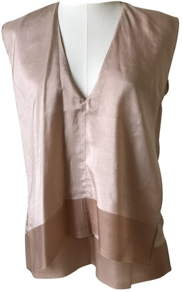 Martine Sitbon Pink Silk Top for Women Vintage
