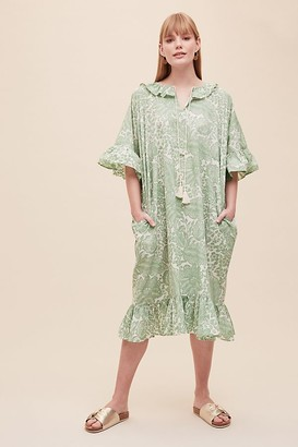 Beaumont Organic Aoko Printed Organic-Cotton Dress
