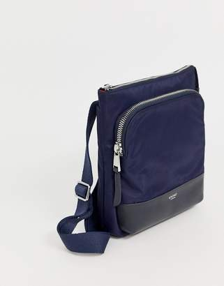 Knomo Carrington Cross Body 10 Bag-Navy