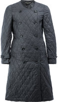 Comme des Garcons quilted double breasted coat - men - Nylon/Polyester - S