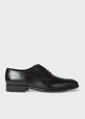 Paul Smith Men's Black Leather 'Guy' Oxford Shoes