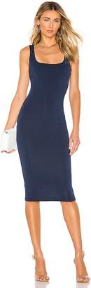 superdown Carlina Square Neck Dress