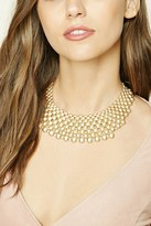 Forever 21 FOREVER 21+ Bead Statement Necklace