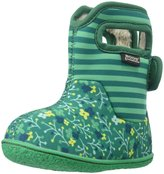Bogs Classic Flower Stripes (Inf/Tod) - Emerald - 10 Toddler