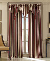 "J Queen New York Queen Street Jasper Stripe 50"" x 63"" Rod Pocket Curtain Panel"