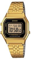 Casio Women's Digital Watch with Stainless Steel Bracelet – LA680WGA-1D