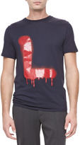 Lanvin Dial L for Tee, Blue