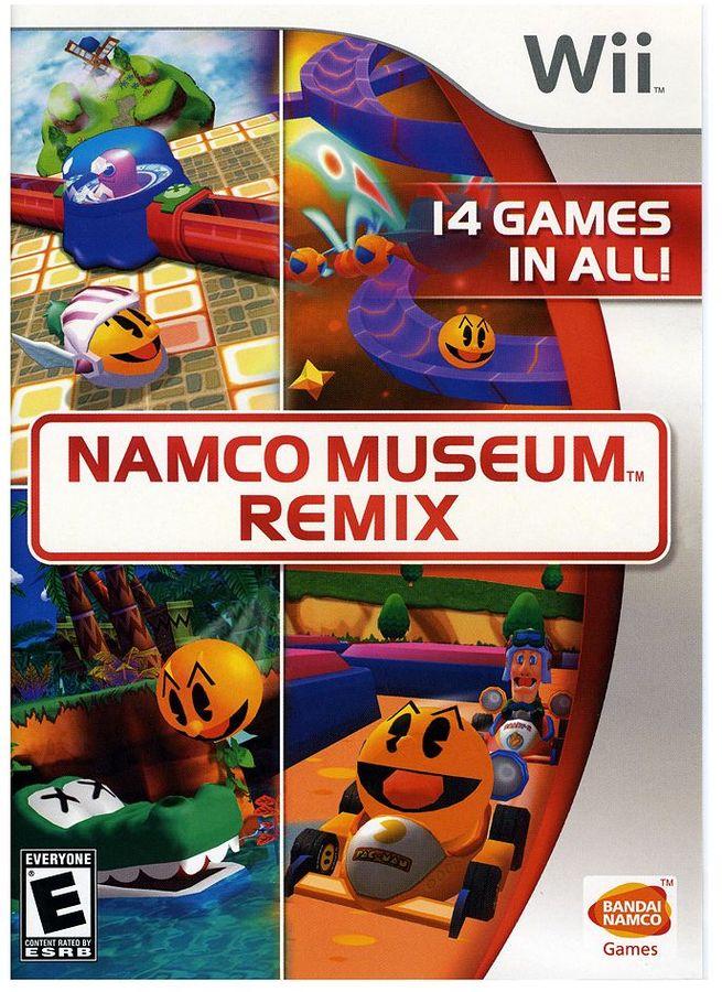 Nintendo wii TM namco museum TM remix