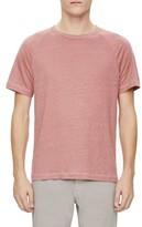 Theory Men's Dustyn Zephyr Raglan Linen T-Shirt