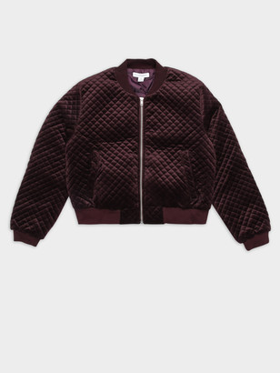Nude Lucy New Frankie Bomber Jacket in Berry
