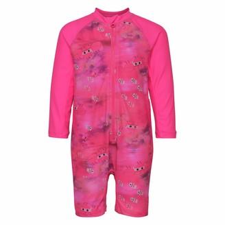 Lego Wear Baby Girls' Duplo Alpha 304-Uv 50+ Badebekledung Einteiler Langarm Swimwear Set
