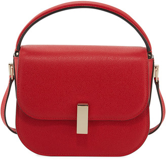 Valextra Iside Saffiano Crossbody Bag