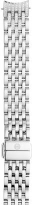 MICHELE 14mm Sidney Classic Bracelet Strap w/ Diamonds