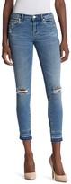 Blank NYC Blanknyc Denim The Reade Released Hem Ripped Skinny Jeans