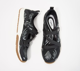 Ryka Adjustable Mesh Mary Jane Sneakers - Kailee Palm