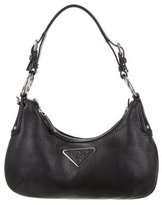 Prada Small Vitello Daino Hobo