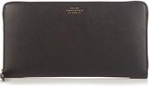 Smythson Panama leather travel wallet