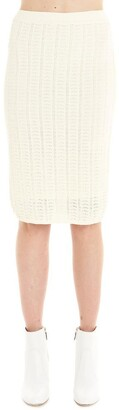 Theory Jacquard Knitted Skirt