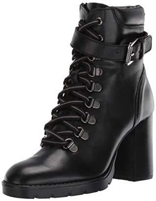 Kenneth Cole New York Women's Santiago Heeled Moto Boot Combat