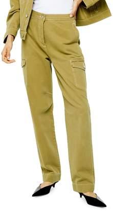Topshop Denim Utility Jeans 30-Inch Legby Boutique