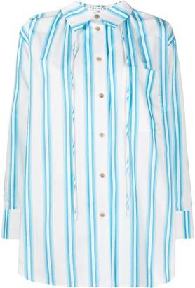 REJINA PYO Vertical Stripe-Print Shirt