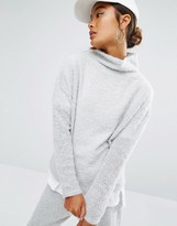 Daisy Street High Neck Sweater