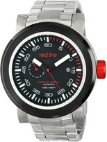 Redline Red Line Men's RL-50046-BB-SS-11 Torque Sport Dial Stainless Steel Automatic Watch