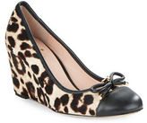 Kate Spade Kacey Leather Wedge Pumps