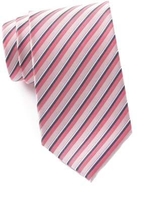 Kenneth Cole Reaction Shadow Stripe Silk Blend Tie