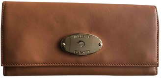 Mulberry Camel Leather Wallets