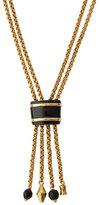 Ashley Pittman Msanii Long Bronze Tassel Necklace