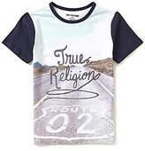 True Religion Big Boys 8-20 Route 02 Short-Sleeve Tee