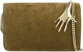 Petar Petrov metallic embellished crossbody bag - women - Nappa Leather - One Size