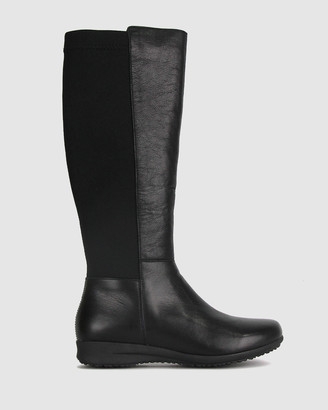 Airflex Women's Flat Boots - Crystal Flat Knee Boots - Size One Size, 5 at The Iconic