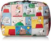 Le Sport Sac Peanuts X Extra Large Rectangular Cosmetic Case Bag
