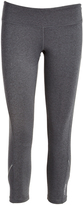 Head Charcoal Heather Run Free Capri Leggings