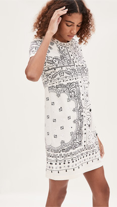 Tory Burch Bandanna Print T-Shirt Dress