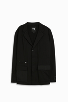 Y-3 Jersey Patch Pocket Blazer