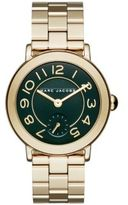 Marc Jacobs Riley Goldtone Stainless Steel Bracelet Watch