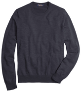 Brooks Brothers Saxxon Wool Crewneck Sweater