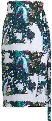 AILANTO Peacocks Sarong Skirt
