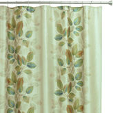 Bacova Guild Waterfall Leaves Shower Curtain