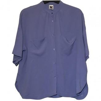 M Missoni Purple Silk Top for Women