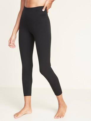 Old Navy High-Rise Balance Yoga 7/8-Length Leggings for Women